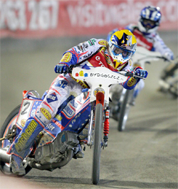 Jason Crump landed his third Grand Prix World Title in the space of six years at Bydgoszcz in Poland