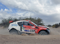 The Dutch Vicking Team used K&N filters to help get through Chile's Atacama Desert in the Dakar Rally