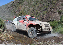 The 2009 Dakar started in Buenos Aires, Argentina to Patagonia, into the Andes Mountains and then Chile's Atacama Desert back to Buenos Aires