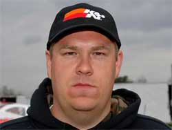 Del Rougeux Jr. won his first race at Mercer Raceway Park in Mercer, Pennsylvania