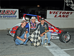 Jeremy Frankoski extened his season long lead in the USAC Ford Focus Carolina Series