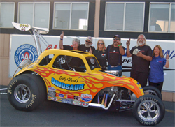 2007 and 2008 American Nostalgia Racing Association Champions Bob Dietz and Dave Ward are also leading the points in 2009