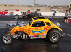 Team Dinosaur depends on K&N oil filters to keep it's supercharged small block Chevrolet motor alive