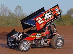K&N sponsored racer Craig Dollansky's sprint car