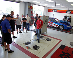 K&N's Bert Heck explains how dyno testing will be done on Top Dawg
