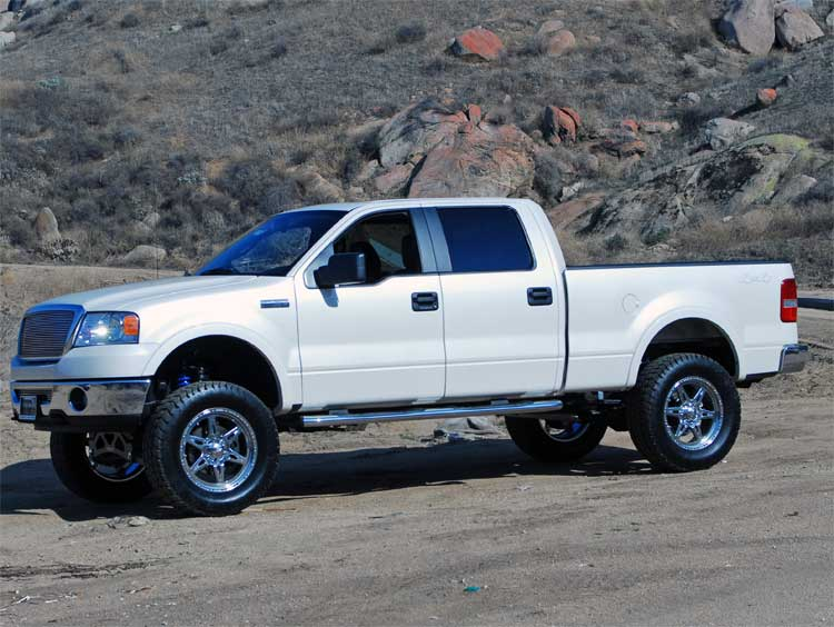 2007 And 2008 Ford F 150 Gets 988 More Horsepower With Kn