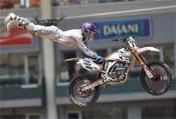 Team Faith Rider Kevin Johnson Gets X Games 14 Gold on YZF 250 Yamaha