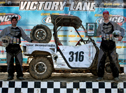 Team Faith won its first National Championship in the GNCC Lites Limited UTV Class, photo by racedaypix.com