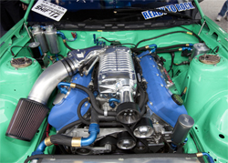 Vaughn Gittin uses K&N products on his 2010 Ford Mustang to protect his engines and for additional power