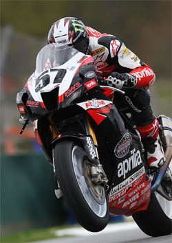 Chaz Davies rode the Aprilia RSV1000R with K&N air and oil filters to a top five finish