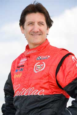 Ron Fellows in pursuit of SPEED GT Championship