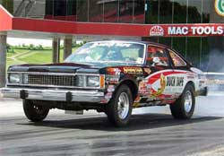 1980 Volare powered by a Mopar 360 Magnum crate engine
