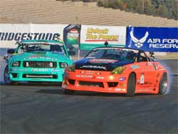 Gittin and Forsberg battle at Infineon Raceway