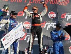 Top Drifters Share the Podium at Sonoma, California