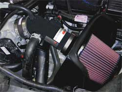 Air Intake Installed in Ford Fusion