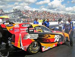 Jeff Arend makes history at Gainesville Raceway