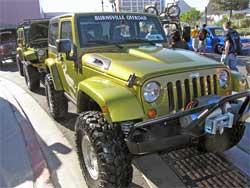 Burnsville Offroad wins Chrysler Design Excellence Award at SEMA 2007