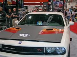 Mattel Hot Wheels designer said K&N 2009 Dodge Challenger was one of the signature cars at SEMA