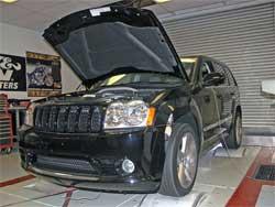 Jeep Grand Cherokee on K&N dyno