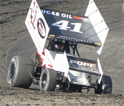 Jason Johnson now tied for Lucas Oil ASCS Point lead in the Sprint Car Dirt Series presented by K&N