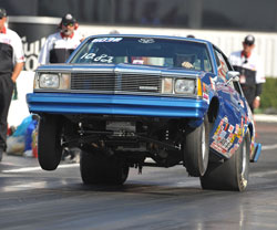 In 2009 Jody Lang won Stock and Super Stock at the Spring Las Vegas National