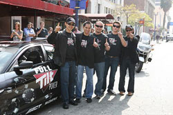 Joon Maeng with his new RX-8 and new team