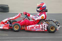 Jacob Pearlman at California Speedway