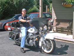 Brian Keller said K&N adds horsepower and torque to his Harley