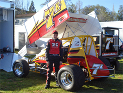 California teen will next compete in the Civil War Sprint Series at Silver Dollar Speedway in Chico, California