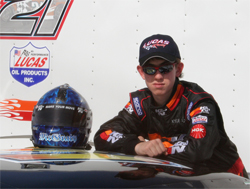 K&N Development Driver and high-school junior Kyle McGrady is in the National Honor Society with an A average