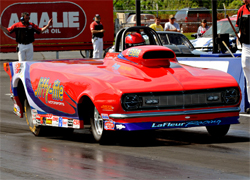 Duane LaFleur's K&N Filters 1968 Chevrolet Camaro roadster built by Race Tech Race Cars will be at the most prestigious NHRA National event on the circuit in Indianapolis