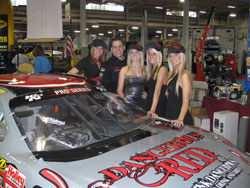 Larry Jamerson and the first four calendar girls