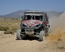 Cold weather and blinding dust were part of the BITD 60 mile course filled with boulders, sand and silt