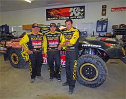 Curt LeDuc, Kyle LeDuc and Todd LeDuc are ready for the second half of the Championship Off Road Racing Season (CORR)