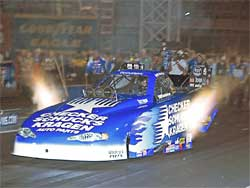 Jeff Arend's qualifying run at The Strip