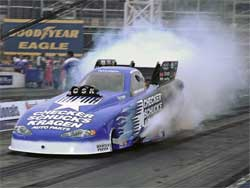Jeff Arend at Las Vegas Motor Speedway