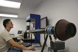 K&N Engineering Mass Air Flow Testing