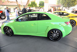 2010 Kia Forte Equipped with K&N Air Filter and Oil Filter