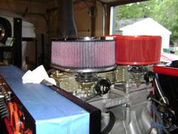 Marine Corps SOS Custom Rock Crawler Equipped with Dual K&N Billet Air Filters