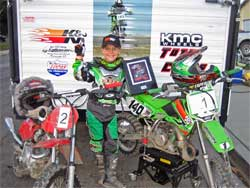 Marshall's bikes are equipped with K&N products