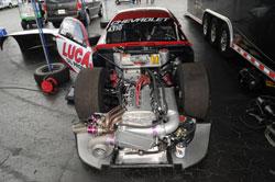 An engine shakedown between passes