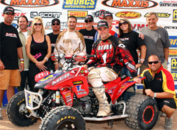 The 2009 MCR Racing Team will be back in 2010 to defend its WORCS Pro ATV Championship Title