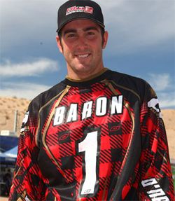Beau Baron overcame the odds in the final round of the 2009 WORCS Series to take his first WORCS Pro ATV Championship