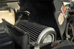K&N Million Mile Air Filter in Carl's Chevy Pick-up Truck