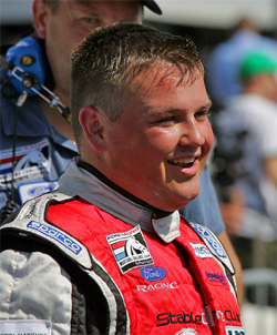 2008 and 2009 Ford Racing Mustang Challenge Series Champion Andrew Caddell