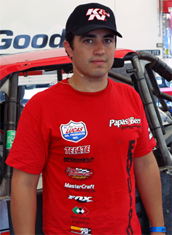 Papas and Beer Racer Rodrigo Ampudia took second place in the Baja 1000 in his Ford F-150 Class 8 truck with K&N air and oil filters