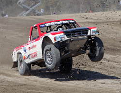 Papas and Beer racer Rodrigo Ampudia will next race in the Lucas Oil Challenge Cup at the Lake Elsinore Motorsports Complex in California