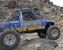 King of the Hammers competition in 2008 with Team Lovell