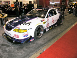 1994 Ford Mustang GT at the 2009 SEMA Show in Las Vegas, Nevada