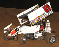 Former King of California Jonathan Allard will race next in the series at Ocean Speedway in Watsonville, California, photo by John's Racing Photos